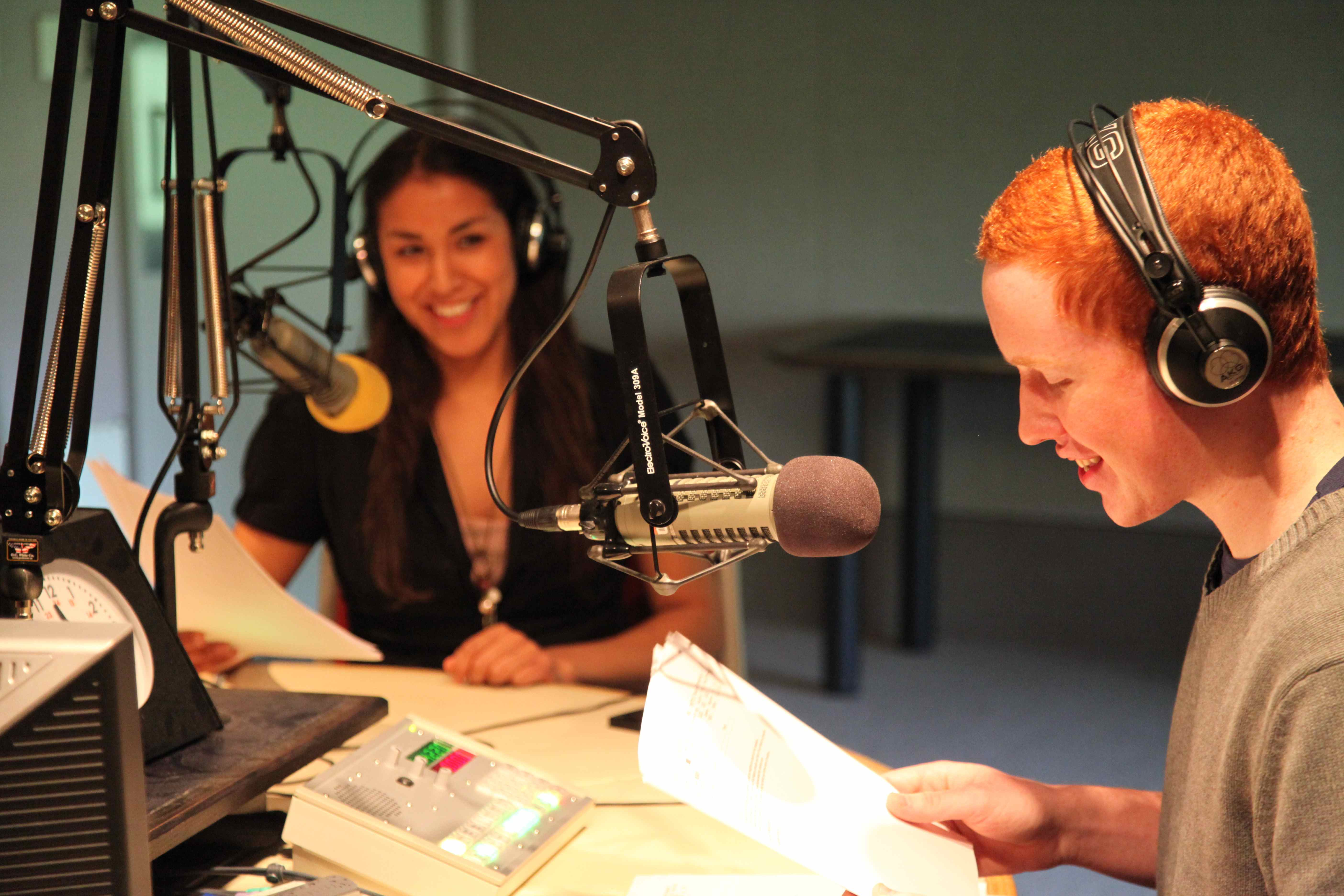 "Kristy Auger and Liam Avison hosted a two-hour radio special called ""What Do Indians Want?"" on CBC Radio One across Saskatchewan on June 21 National Aboriginal Day, 2013. Sixteen INCA students produced stories, streeters and interviews for the show."
